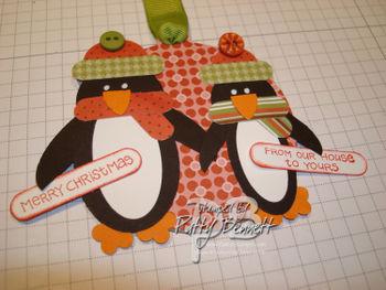 Penguin ornament 2