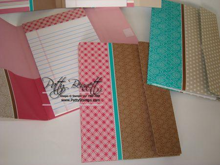 File folder legal pad
