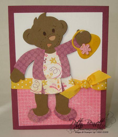 Razzle bear card 1