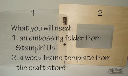 Emb folder supplies