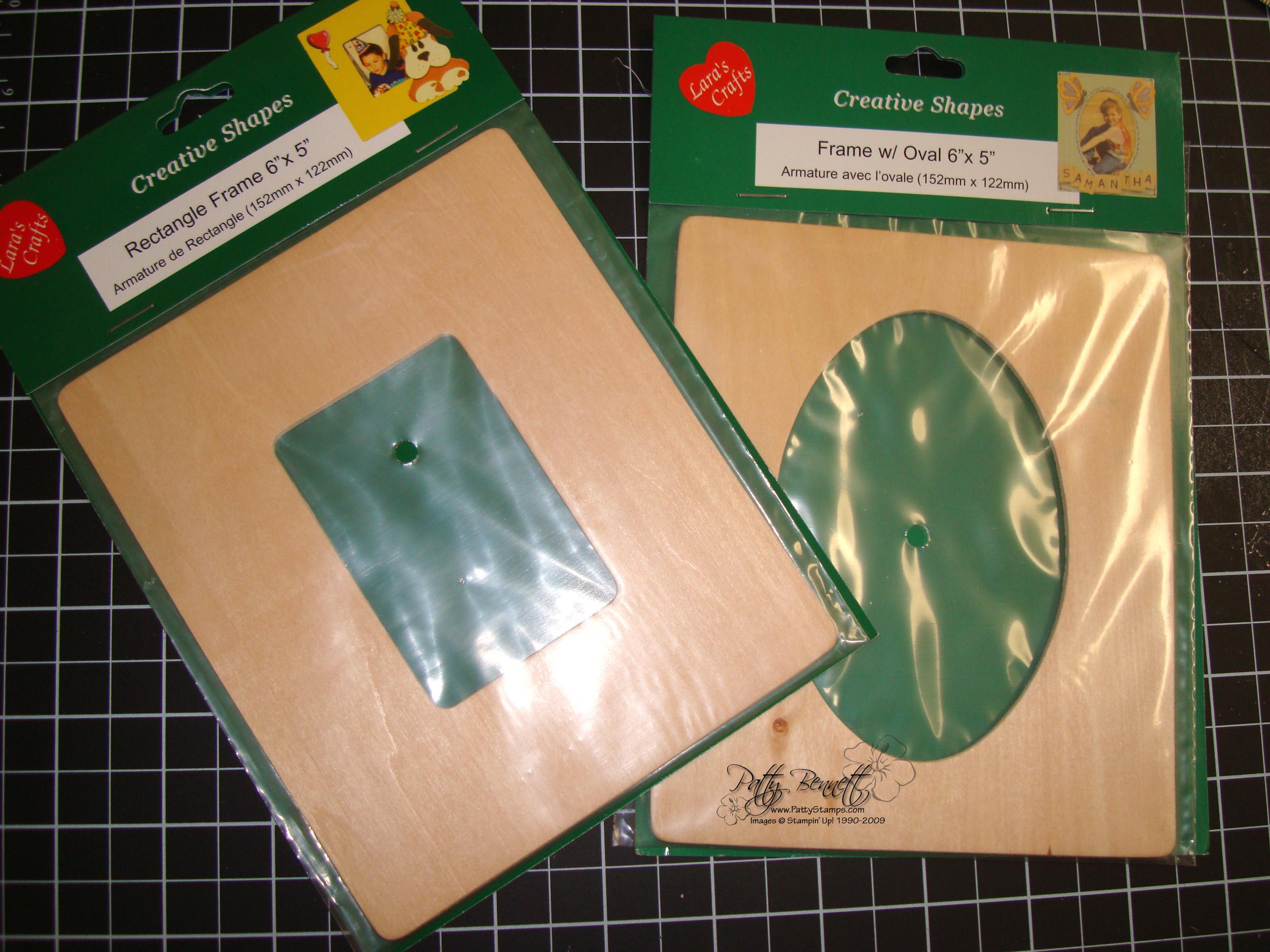 Emb folder wood frame