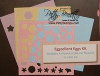 Egg kit flowers
