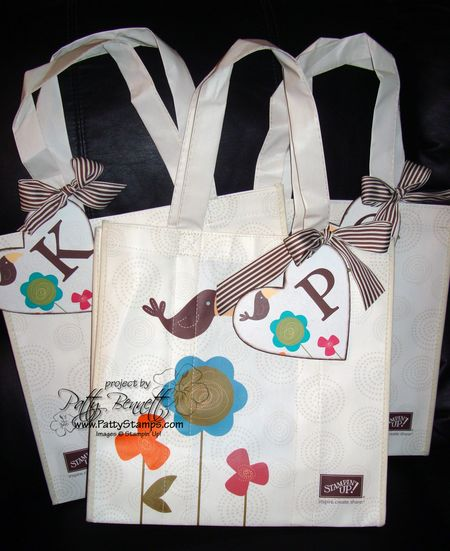 Bag with tag