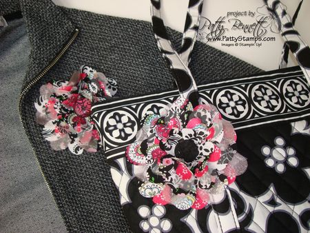 Pink flower pair