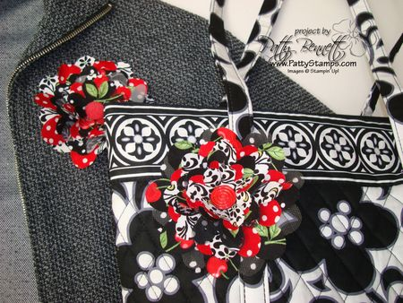 Red flower pair