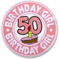 50 bday girl
