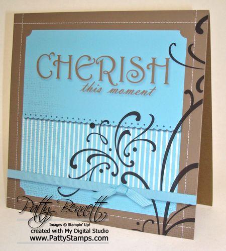 Cherish moment card