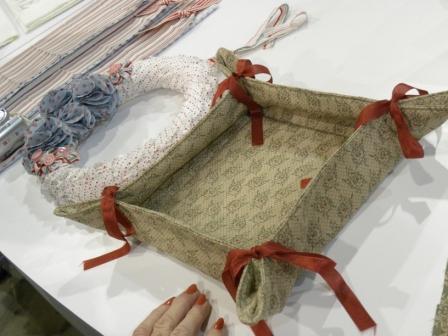 1 fabric basket