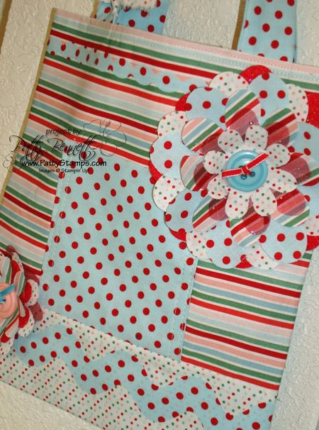 Candy cane tote 2