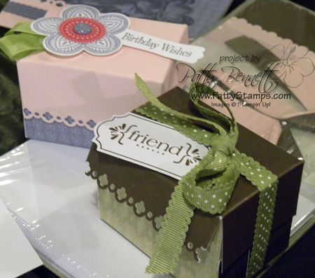 Sweet moments boxes