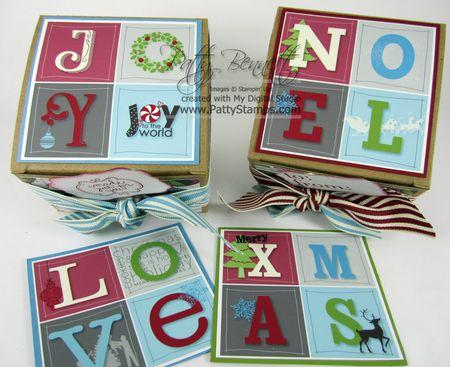 MDS JOY NOEL boxes