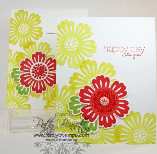 Mixed bunch cards