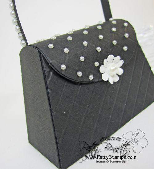 Petite purse black