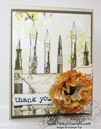 Attic boutique flower card