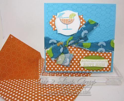 Cindee happy hour card