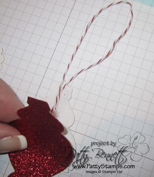 Ornament twine hanger
