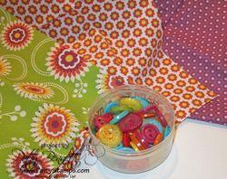 Laura bracelet floral district fabric