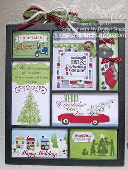 Christmas 2012 printers tray inserts