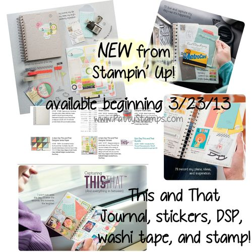 This and that journal washi tape patty
