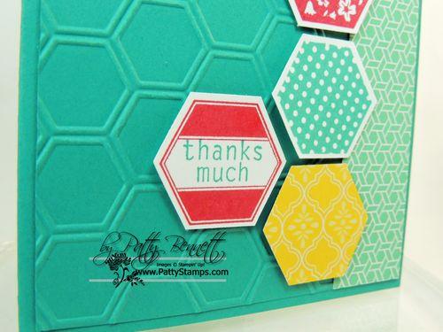 Hexagon bermuda bay index card 2