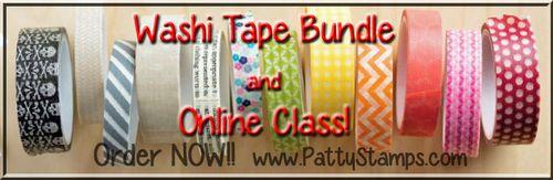 Washi tape bundle patty