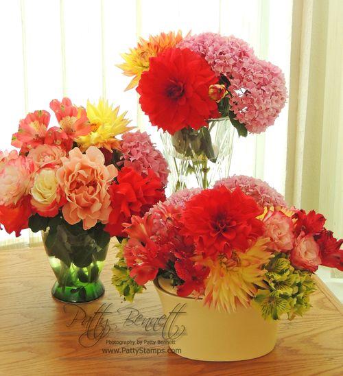 3 bouquets patty 2013