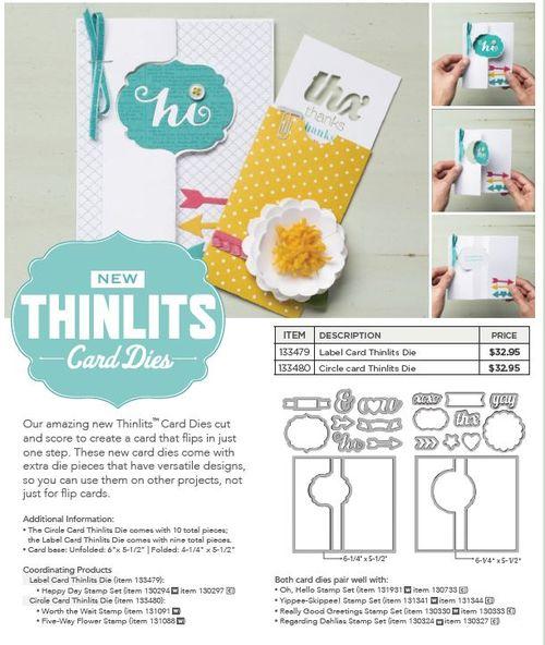 Thinlit flip card dies flyer 1