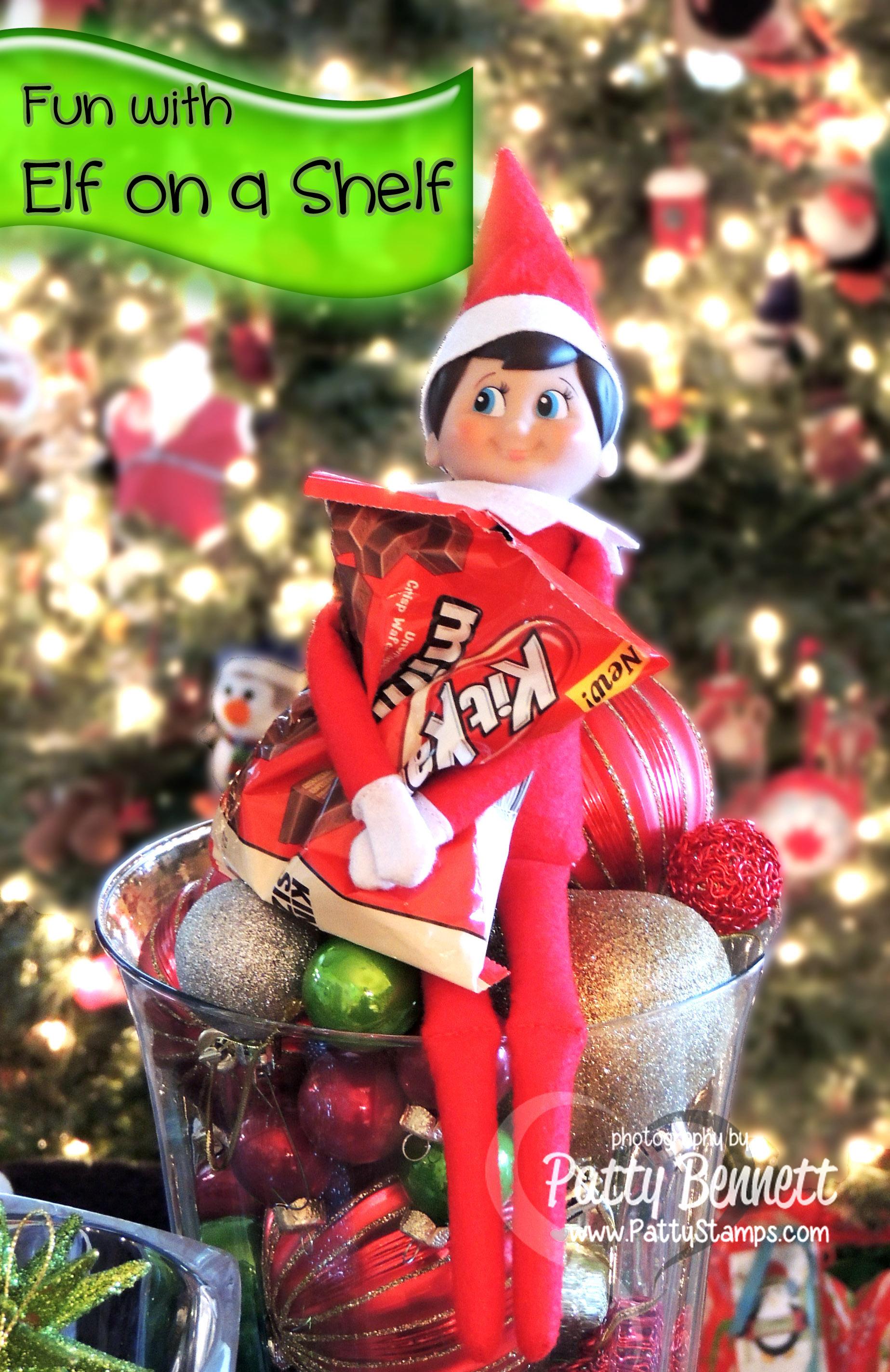 Christmas Fun With Elf On A Shelf