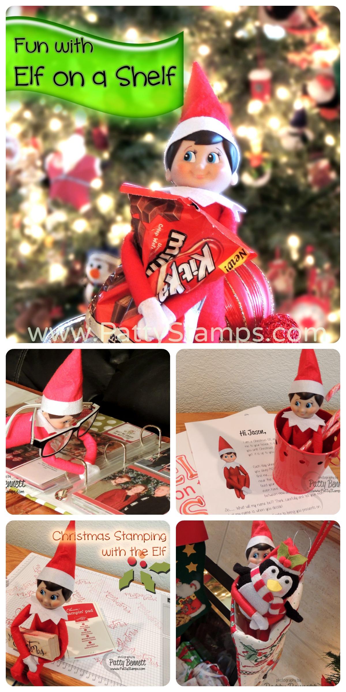 Elf On A Shelf Ideas Collage