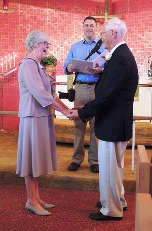 Ron jean wedding 1