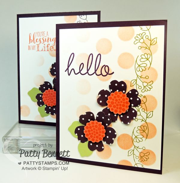 Pansy-punch-dots-mask-bordering-blooms-stampin-up-cards