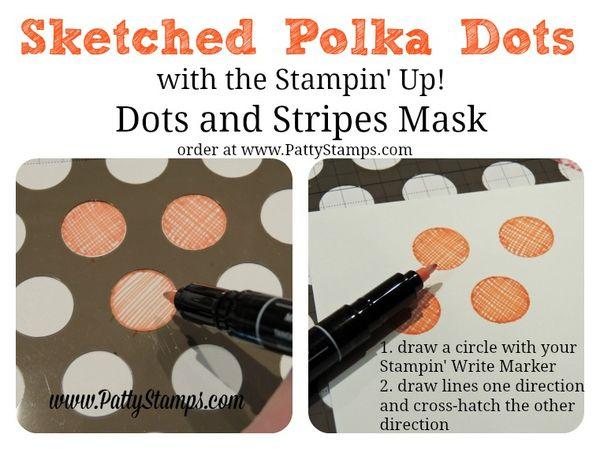 Sketched-polka-dots-mask-stampin-up