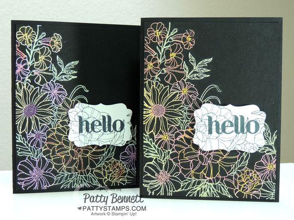 Corner-garden-blendabilities-black-embossed-stampin-up-cards