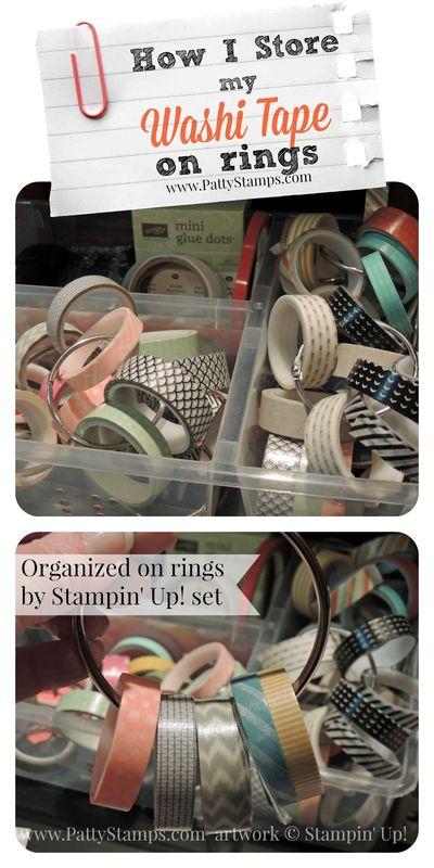 Washi-tape-storage-on-rings-pattystamps-stampin-up