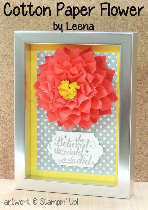 Cotton-paper-flower-framed-gift-leena-stampin-up