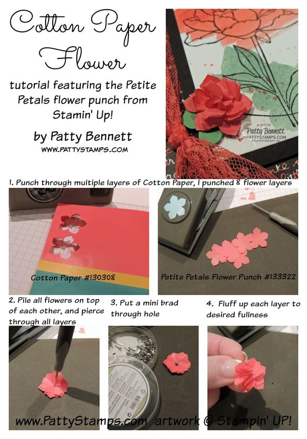 Cotton-paper-petite-petals-flower-tutorial-stampin-up-pattystamps