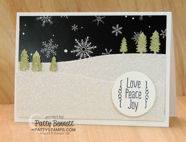 Sleigh-ride-edgelit-card-trees-stampin-up-glimmer-paper-pattystamps