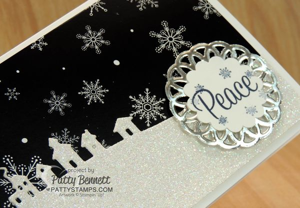 Sleigh-ride-edgelit-card-glimmer-paper-pattystamps-stampin-up-metallic-doily