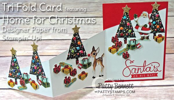 Trifold-home-for-christmas-tree-punch-card-stampin-up-pattystamps-3