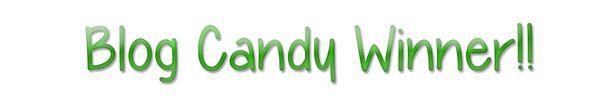 Blog candy winner pattystamps