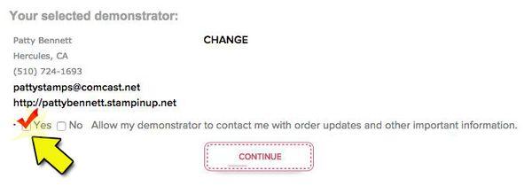 No contact option