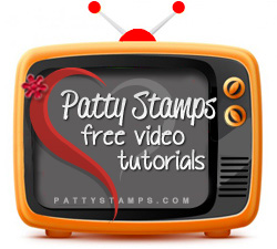Watch Free Videos on PattyStamps.com for rubber stamping tips and techniques and handmade projects!