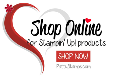 Pattystamps shop Stampin' Up! online anytime