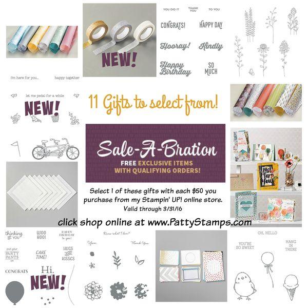 2016 sab free gift collage pattystamps stampin up