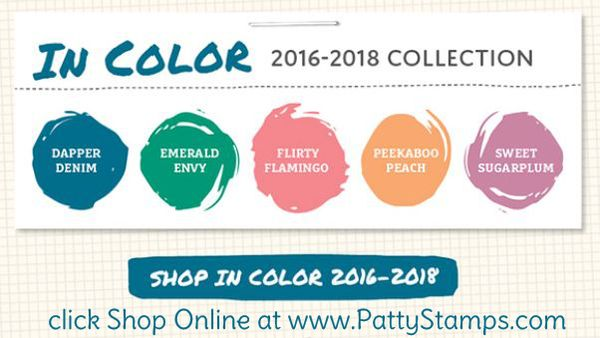 2016 new in color stampin up pattystamps