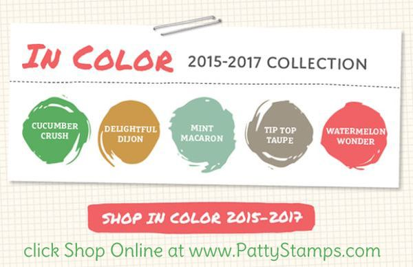 2015 in color stampin up pattystamps