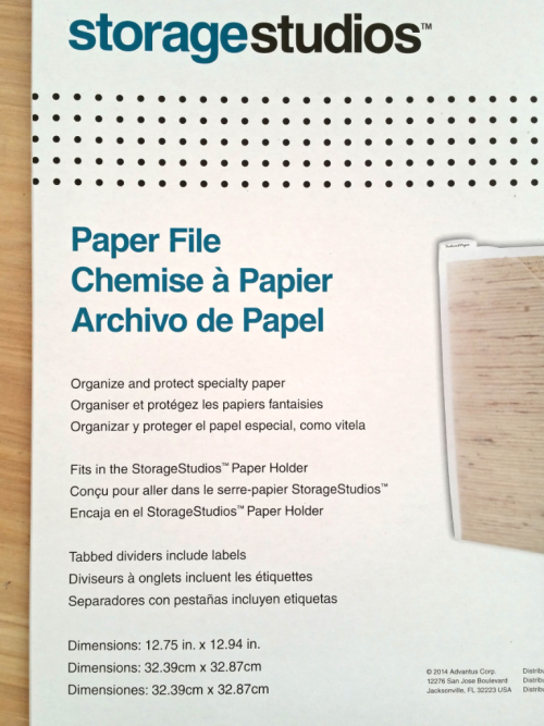 12x12 paper files from storage studios - Patty's Stamping Loft