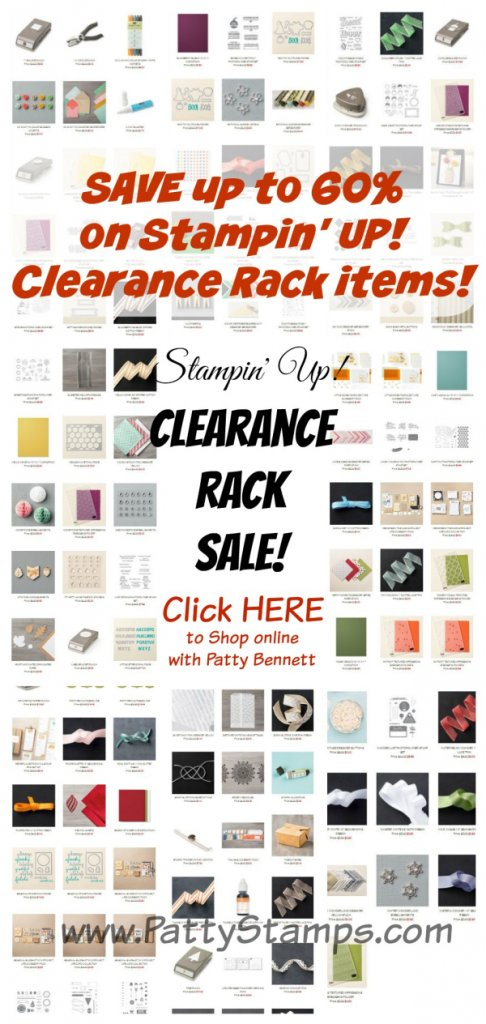 Clearance rack save pattystamps stampin up