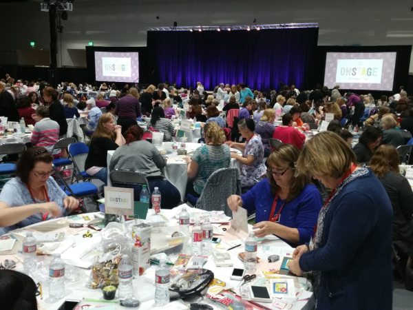 Stampin' UP! San Diego OnStage convention April 2017
