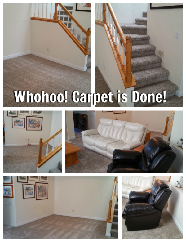 Living room & Dining room carpet done by S & G Carpets and more in Pleasant Hill, CA
